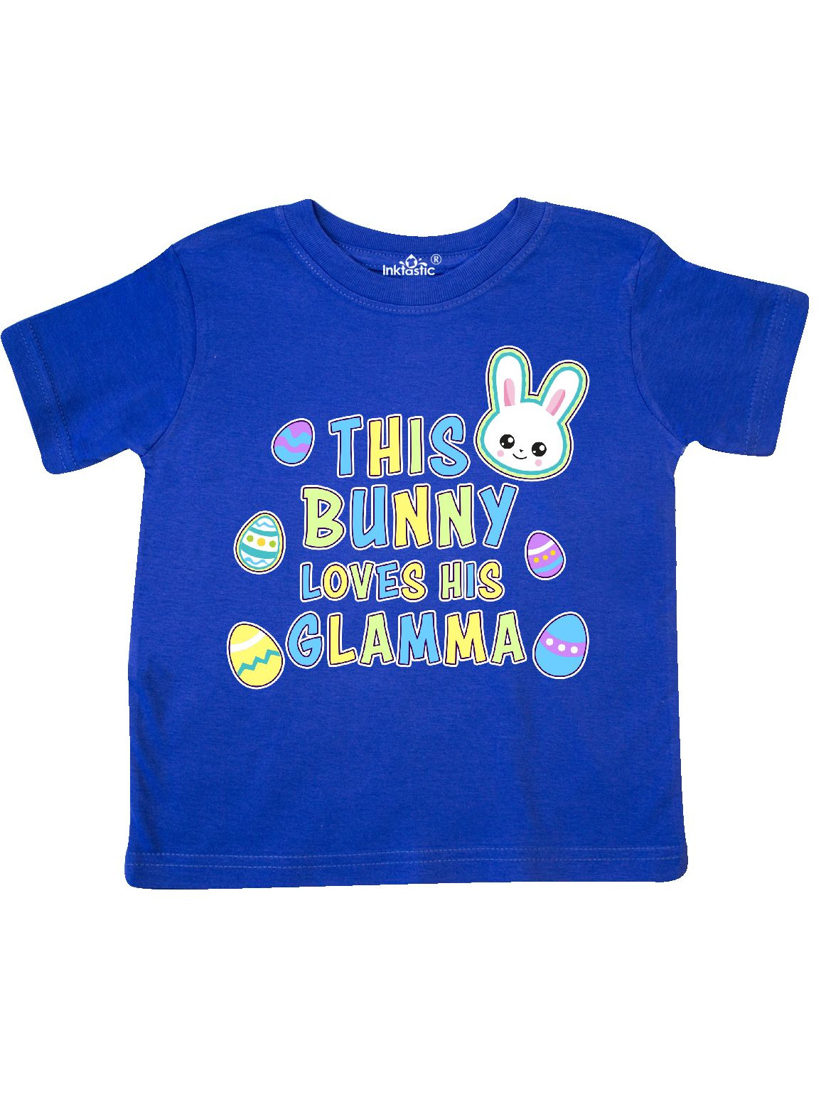 inktastic This Bunny Loves Her Abuela with Bunny Face and Toddler T-Shirt