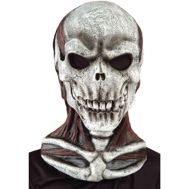 Full Overhead Skull Mask Latex Mask Skeleton Mask Rubies 66020