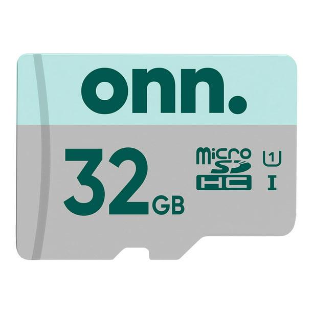 onn. 32GB microSDHC Card with Adapter - Walmart.com - Walmart.com
