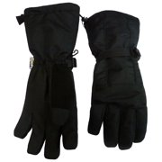NICE CAPS Womens Extreme Cold Weather Premier Snowboard Ski Snow Glove with Long Cuff - 80 Gram Thinsulate Lined Insulation For Winter