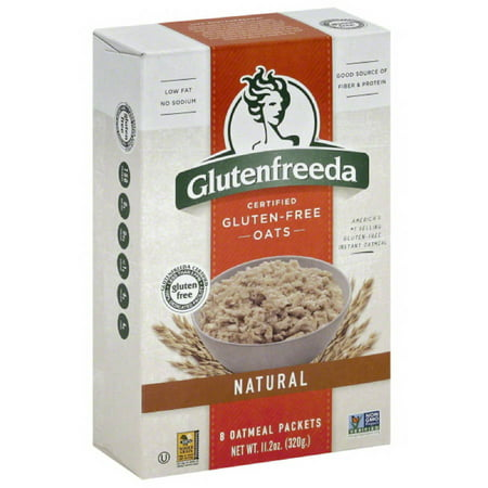 Glutenfreeda Gluten-Free Instant Natural Oatmeal, 11.2 oz, (Pack of 8)