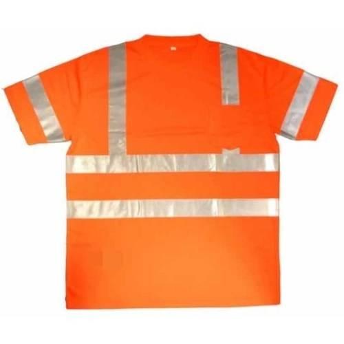 Cor-Brite Hi-Vis Orange Short Sleeve Shirt