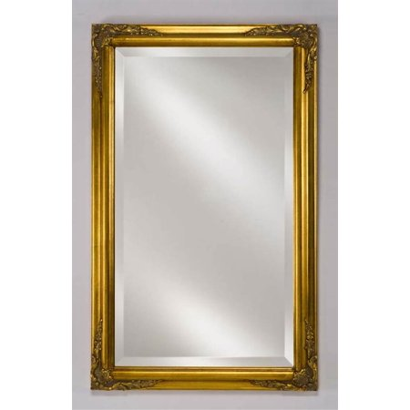 Estate Wall Mirror in Antique Gold Finish (Small ...