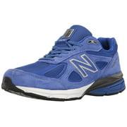 New Balance M990RY4-2E: Men's Wide 990v4 UV Blue/Silver Running Sneaker