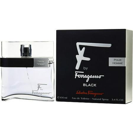 F BY FERRAGAMO POUR HOMME BLACK by Salvatore Ferragamo - EDT SPRAY 3.4 OZ - (Ferragamo Pour Homme Edt)