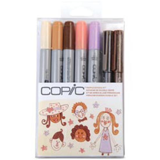 People - Copic Doodle Kit