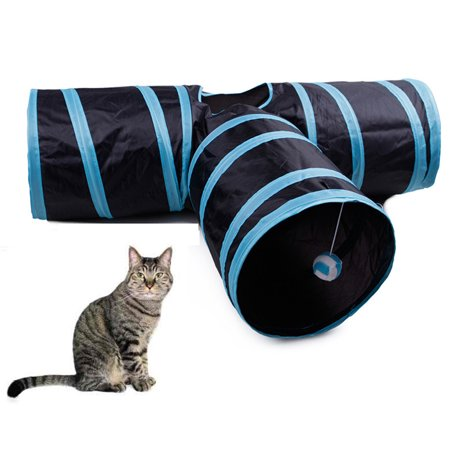 Pet Cat Play Tunnel Funny Cat Long Tunnel Kitten Play