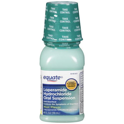 Equate Antidiarrheal Liquid, 4 oz