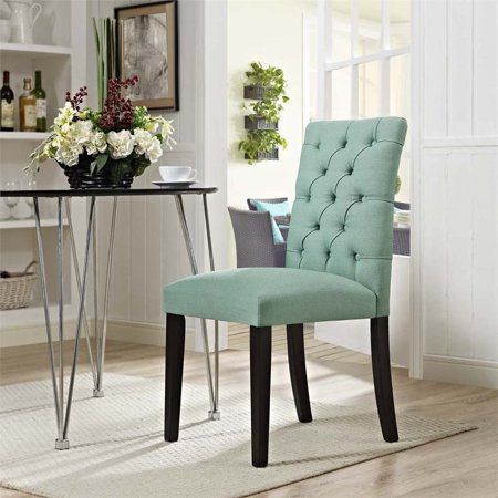 Hawthorne Collections Fabric Upholstered Dining Side Chair in Laguna - image 2 of 4