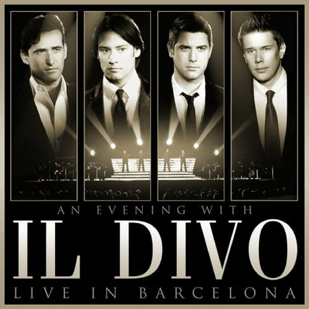 An Evening With Il Divo  Live In Barcelona  Cd   Dvd