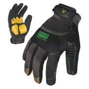 IRONCLAD EXO-MLR-03-M Medium Gray TPR Puller Cuff Mechanics Gloves