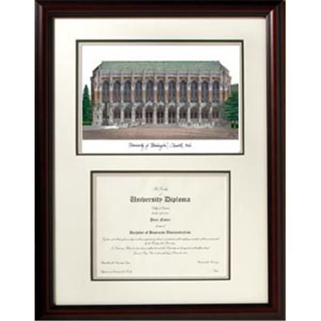 Campus Images WA995V 18'' x 24'' University of Washington Scholar Frame