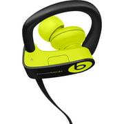 Refurbished Apple Beats Powerbeats3 Wireless Shock Yellow In Ear Headphones MNN02LL/A