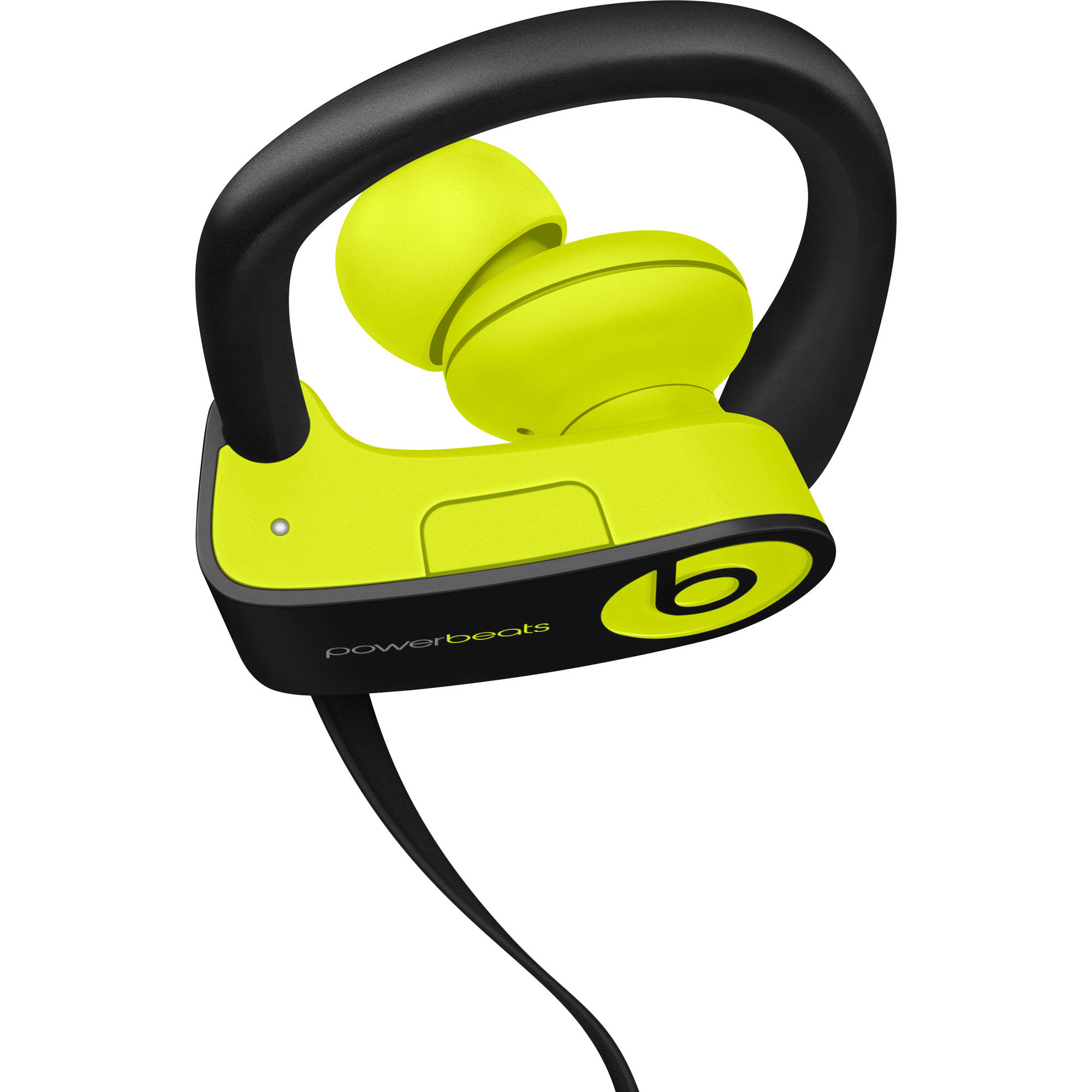 Refurbished Apple Beats Powerbeats3 Wireless Shock Yellow In Ear Headphones MNN02LL/A