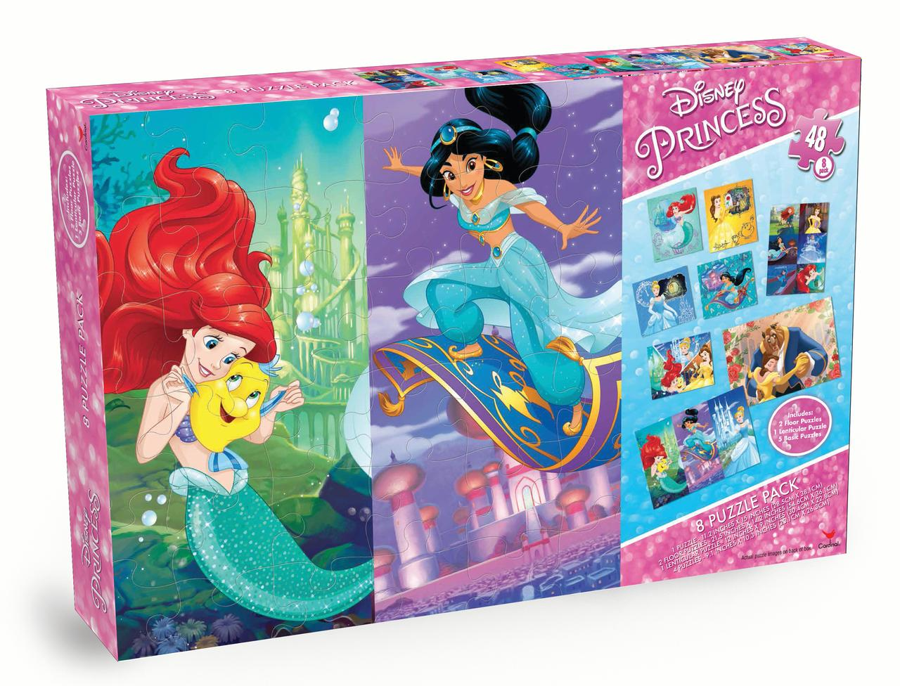 Disney Princess 8-Pack Puzzle Box by Spin Master Ltd