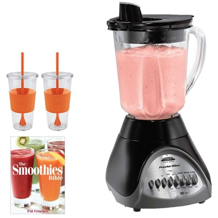 sale proctor silex smooth pour 10speed blender 50247a w bundle includes pat crocker the. Black Bedroom Furniture Sets. Home Design Ideas