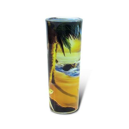 Full Shooter Shot Glass Palm Tree ()