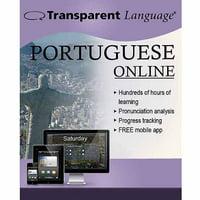 Transparent Language Online Portuguese (Brazilian) (12 Month) (Digital Code)