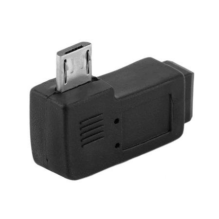 USB Mini 5 Pin Female to Micro 5 Pin Male 90 Degree Angle Adapter Converter - image 1 of 6