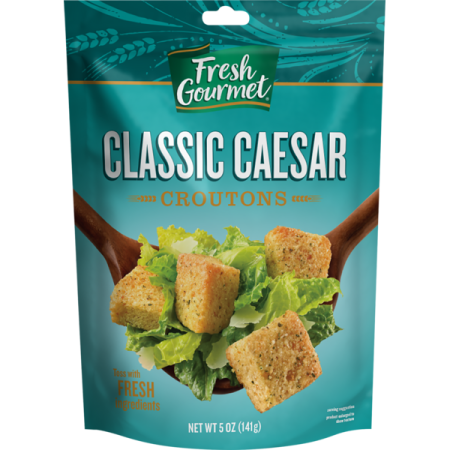 Fresh Gourmet Classic Caesar Croutons, 5 OZ - Fresh Gourmet Tortilla Strips