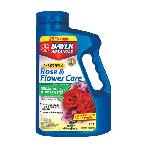 Bayer 2-in-1 Systemic Rose and Flower Care Granules