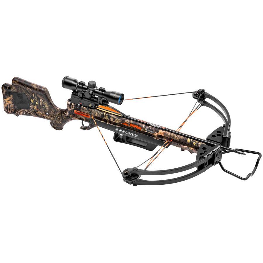 Wicked Ridge Warrior G3 Crossbow Package, Mossy Oak