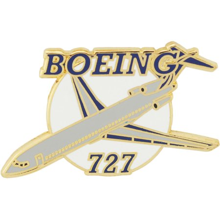 Boeing 727 Airplane Pin 1