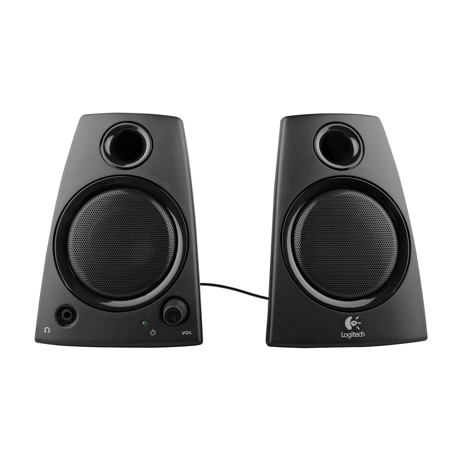 Logitech Z130 Laptop Speakers (Black) (Certified Refurbished)