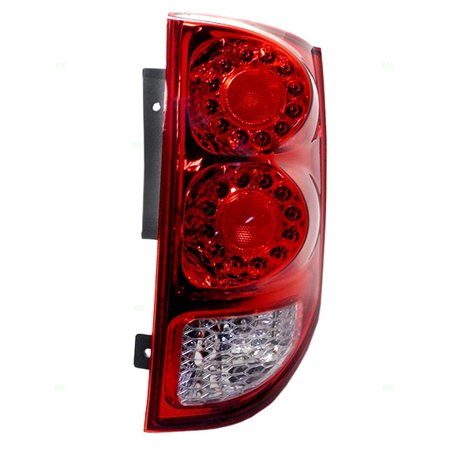 BROCK Taillight Tail Lamp Passenger Replacement for 11-18 Dodge Grand Caravan Van 5182534AD