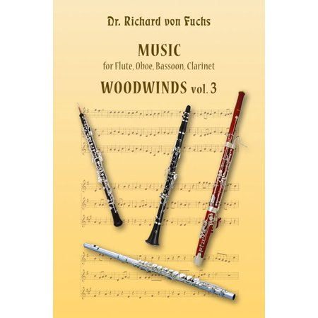 Music for Flute, Oboe, Bassoon, Clarinet Woodwinds vol. 3 - eBook 2000 Bassoon Book