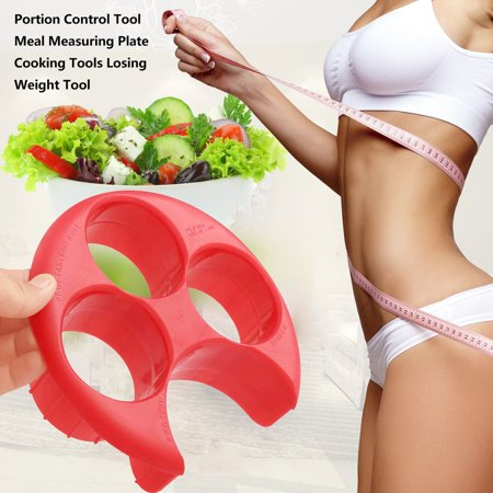 Portion Control Tool Meal Measuring Plate Cooking Tools Losing Weight Tool - image 6 of 7