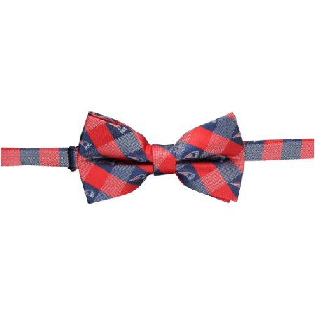New England Patriots Check Bow Tie - No Size (Eagles Wings Ohio Tie)