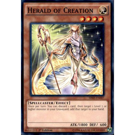 Dragon Rise - YuGiOh Rise of the True Dragons Structure Deck Herald of Creation SR02-EN007
