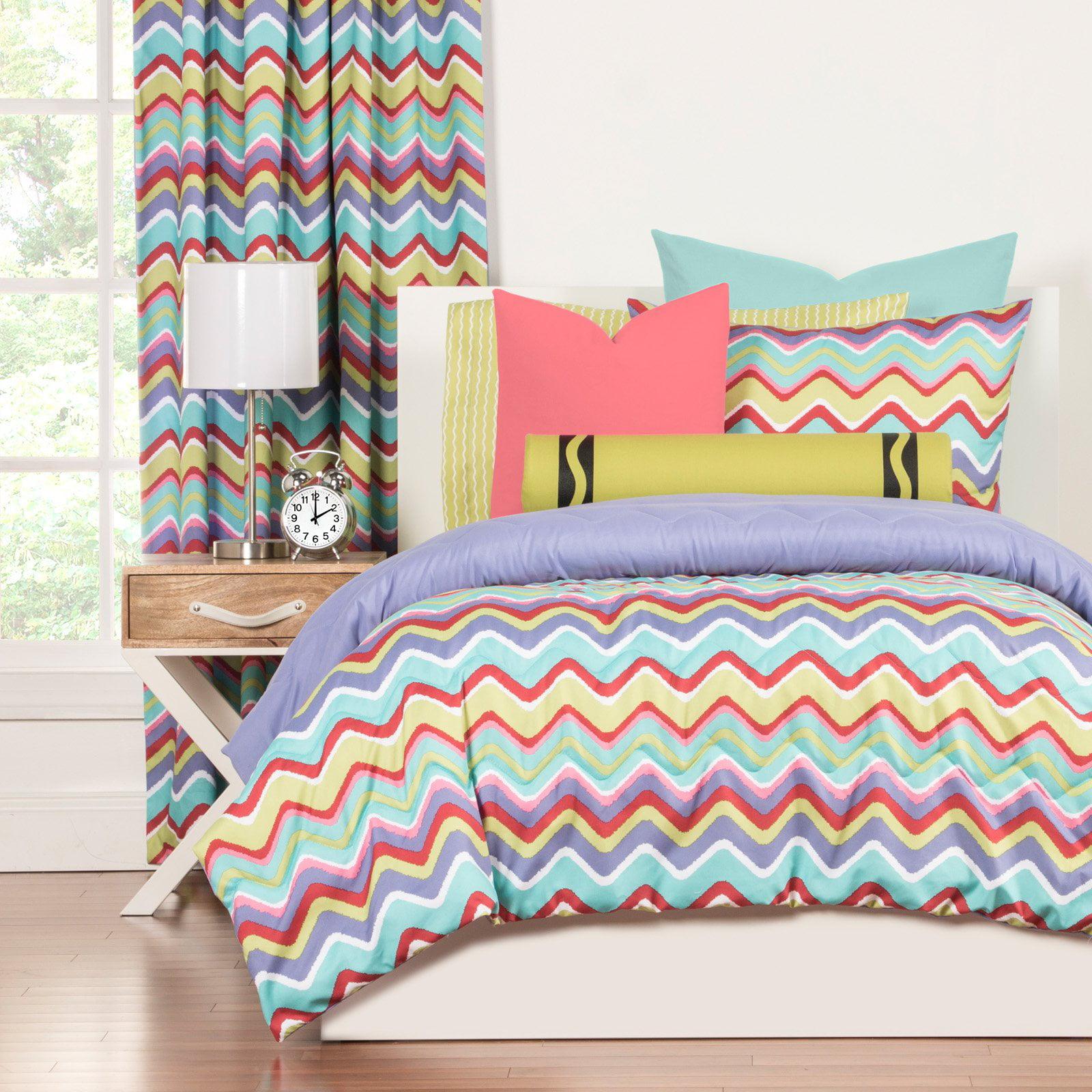 Crayola Mixed PalatteTwin Comforter Set