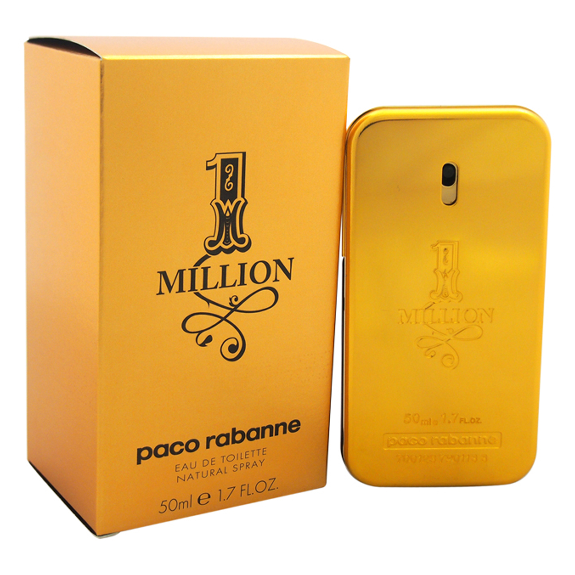 1 Million by Paco Rabanne EDT Spray for Men - 1.7 oz