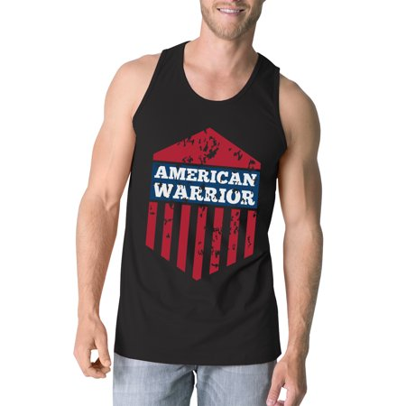 9114a2538 365 Printing - American Warrior Black Crewneck Graphic Tanks For Men Gift  For Him - Walmart.com