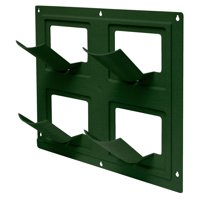 """Emsco Group 2491-1 Wall Flowers Pickers Garden System, 17"""" x 17"""" Panel, Green"""