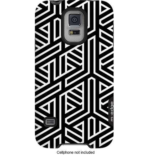 M-Edge Echo for Samsung GS5 (B&W Geometric)