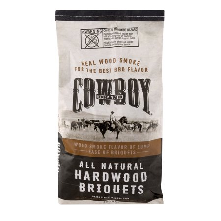 Cowboy Brand 14LB All Natural Long Lasting Hardwood Briquets
