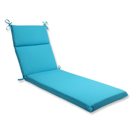 Pillow perfect outdoor indoor veranda turquoise chaise for 23 w outdoor cushion for chaise