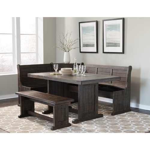 Gracie Oaks Murilda Breakfast Nook Dining Set