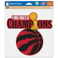 Toronto Raptors WinCraft 2019 NBA Finals Champions 8'' x 8'' Perfect Cut Decal