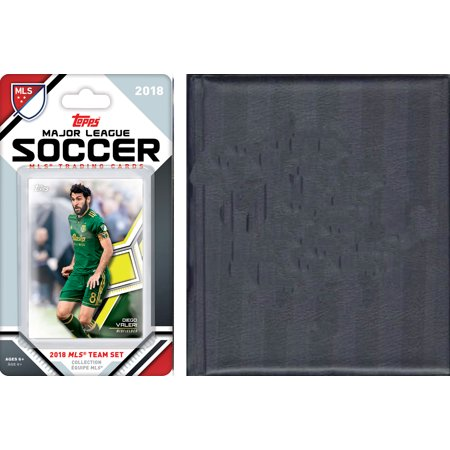 MLS Portland Timbers Licensed 2018 Topps Team Set and Storage Album - Halloween Stores Portland