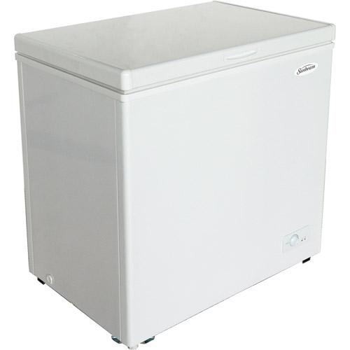 Sunbeam 5.5 cu. ft. Chest Freezer, White