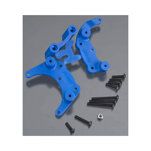 80905 Rear Bumper Mount Blue Slash Multi-Colored