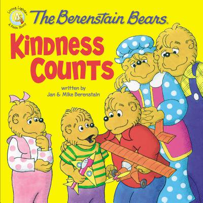 Berenstain Bears Living Lights 8x8: The Berenstain Bears: Kindness Counts (Paperback) (Espn Mike And Mike Halloween)