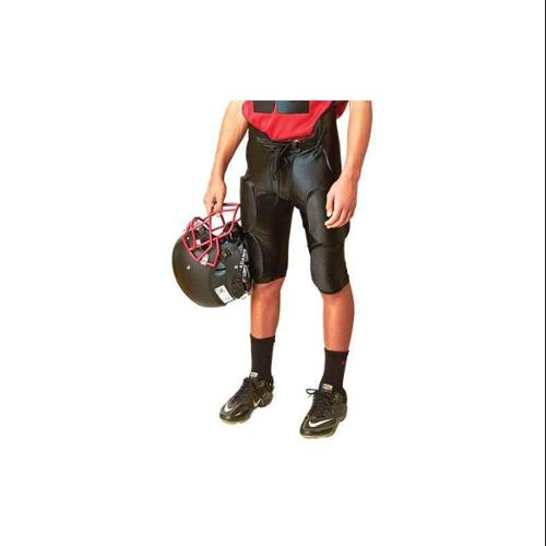 Dazzle Football Pant Youth in Black (X-Small) by Athletic Connection