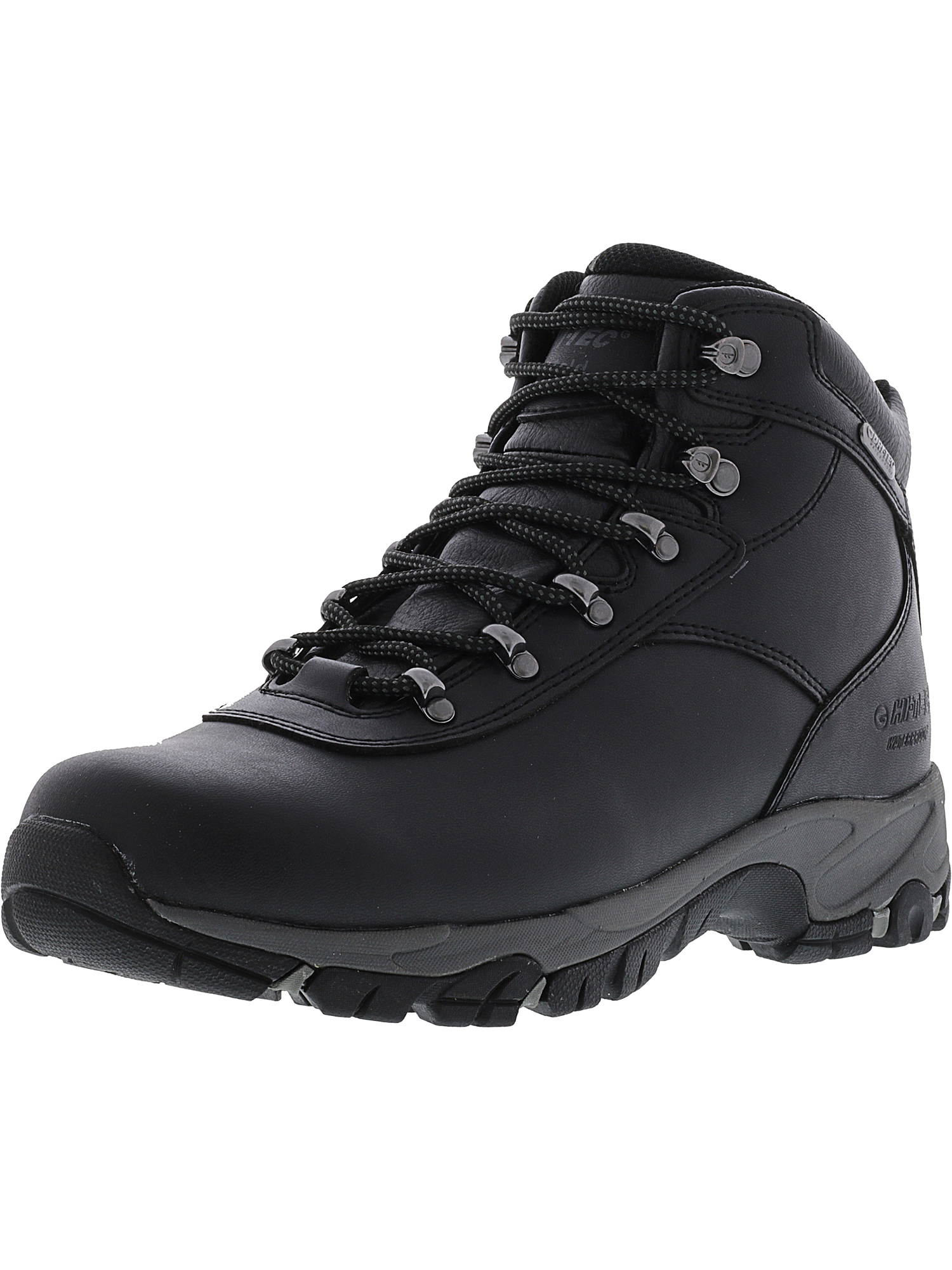 Hi-Tec Men's Altitude Vi I Waterproof Black   Charcoal Ankle-High Leather Boot 7.5W by Hi-Tec