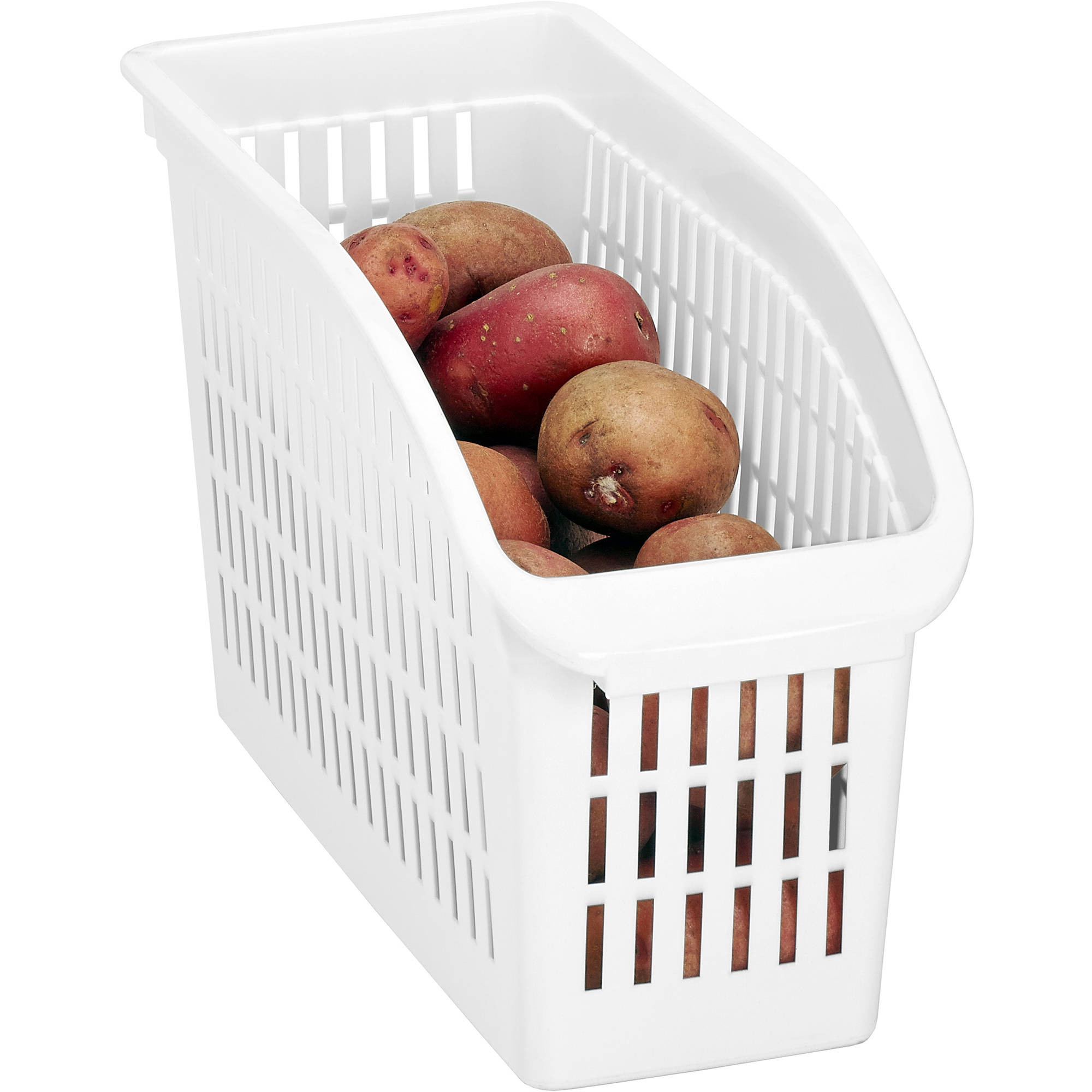 Kitchen Details Easy Pull Pantry Organizer Basket, Slim