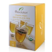Revolution Tea 80-7050 Organic Nilgiri Decaf Black 6-20 Count
